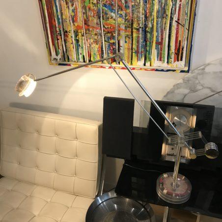 Lampe Valenti design Lommazzi Made in Italie 70's