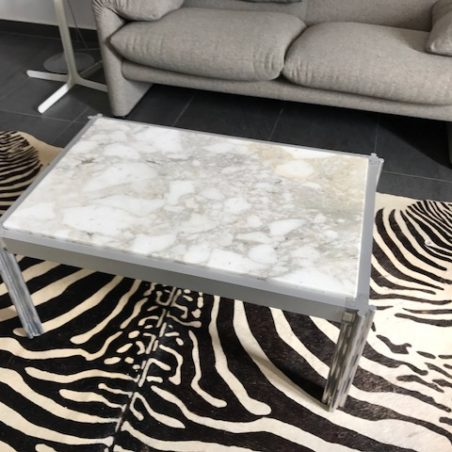 Table basse vintage Georges Cianimino mobilier international