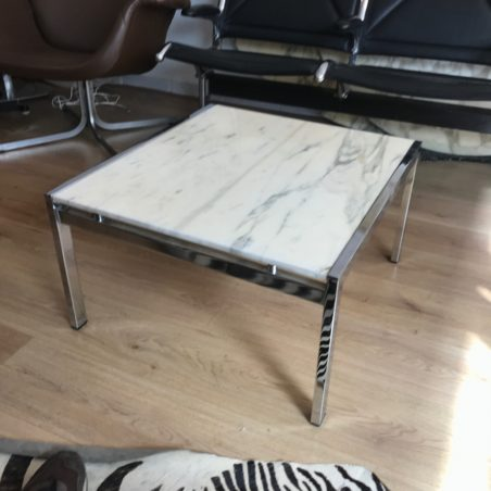 Table basse marbre Florence Knoll