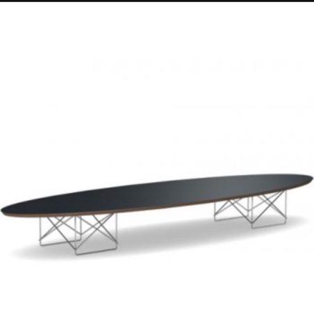 Grande table basse Elliptical par Charles Eames édition Herman Miller US