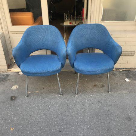 Paire de fauteuils Knoll Conférence armchair Eero Saarinen