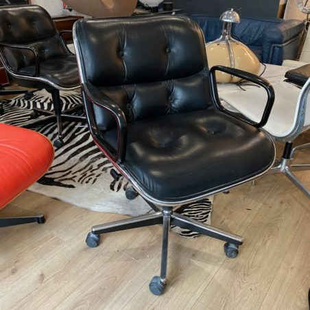 Fauteuil Executive Chair Charles Pollock pour Knoll International