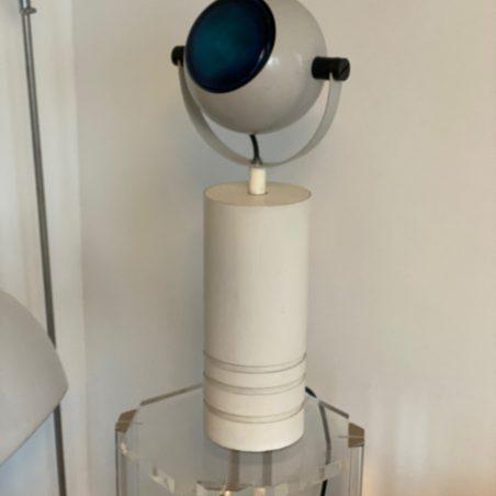 Lampe eyeball, design italien des années 70