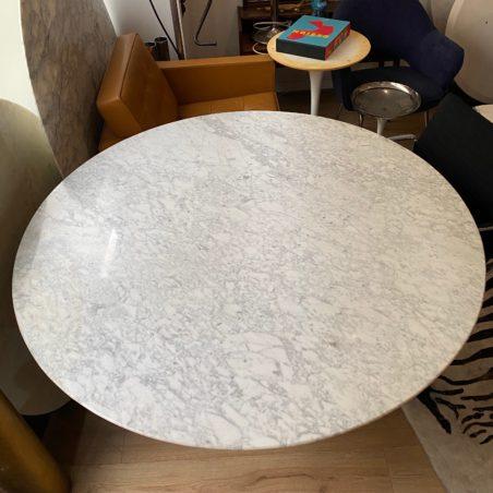 Z Grande table Saarinen (152cm de diamètre) édition Knoll Studio état neuf