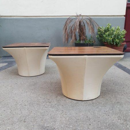 Paire de tables basses pour Artifort Pierre Paulin