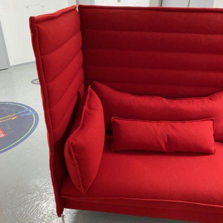 Canapé Alcove Plume design Ronan & Erwan Bouroullec, pour VITRA.