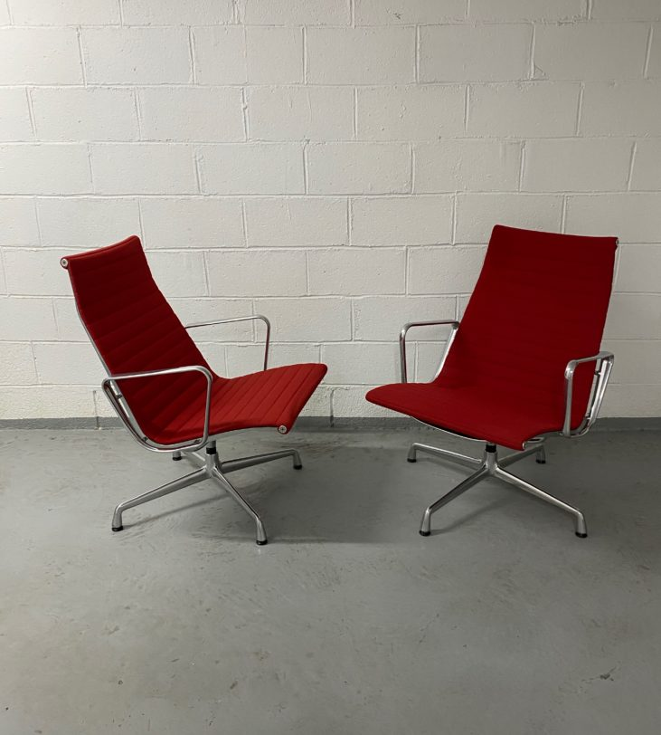 Lounge chair ES 116, Design Charles & Ray Eames édition Vitra