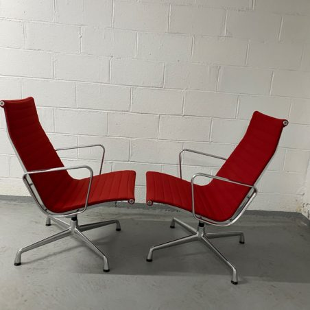 belle paire de Lounge chair ES 116, Design Charles & Ray Eames édition Vitra