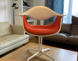 Très rare fauteuil DAF Georges Nelson pour Herman Miller